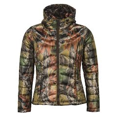 Trail Crest Women`s Ultra Thurmic Silk Padded Quilted Jacket Image