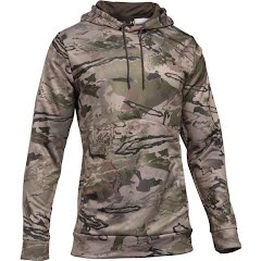 Under Armour Men`s UA Storm Armour Fleece Camo Hoodie (Tall) Image