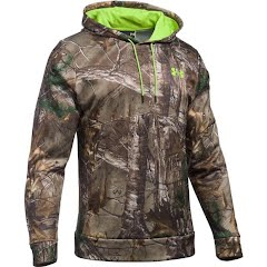 Under Armour Men`s UA Scent Control Camo Hoodie Image
