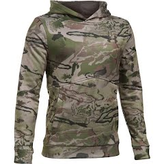 Under Armour Boys Youth UA Storm Camo Hoodie Image