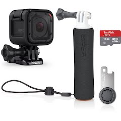 Gopro HERO Session Camera + Handler + 16GB SD Bundle Image