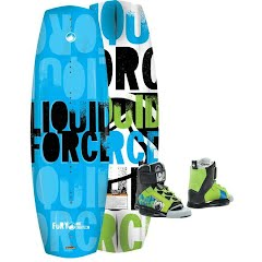 Liquid Force Youth Fury 118 Wakeboard and Binding Package (2015) Image