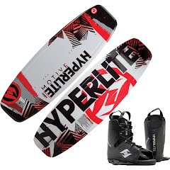 Hyperlite Motive Wakeboard with Frequency OSFA Bindings Image
