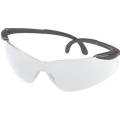 Champion Open Frame Ballistic Shooting Glasses (Grey / Clear) Image