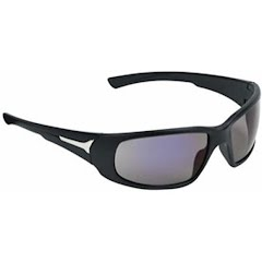 Champion Closed Frame Ballistic Shooting Glasses (Matte Black / Mirror) Image