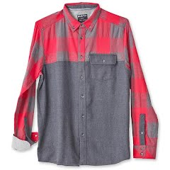 Kavu Men's South Fork Long Sleeve Flannel Shirt Image