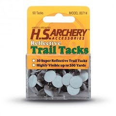 Hunter Specialties White Reflective Trail Tacks Image