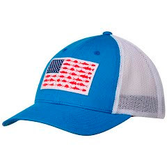 Columbia Men`s PFG Mesh Snap Back Ball Cap Image