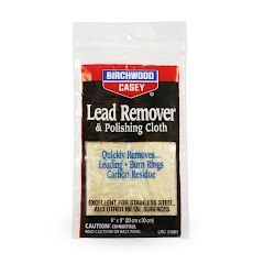 Birchwood Casey Lead Remover and Polishing Cloth, 6 x 9 Image