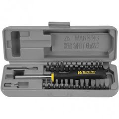 Wheeler Space Saver Gunsmithing Screwdriver Set Image