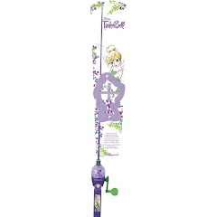 Shakespeare Girls Disney Tinkerbell Light Up Fishing Kit Image