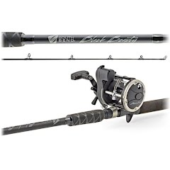 South Bend Black Beauty 8 Foot 6 Inch Trolling Combo Image