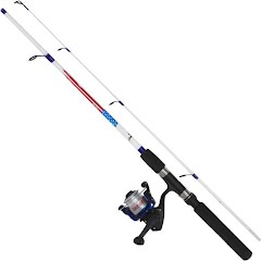 Eagle Claw Brave Eagle 4`6`` 2-Piece Spinning Combo with Line Image