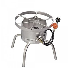 Camp Chef Stainless Steel High Output Single Burner Cooker Image