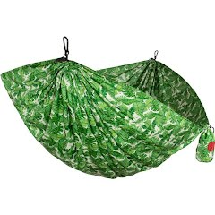 Grand Trunk Parachute Nylon Print Double Hammock (Palms) Image