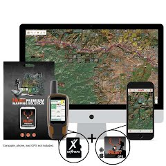 Onxmaps Montana HUNT Chip for GPS and Computer Image
