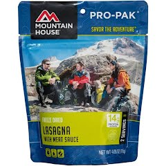 Mountain House Pro-Pak Lasagna with Meat Sauce Image