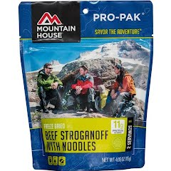 Mountain House Pro-Pak Beef Stroganoff with Noodles Image