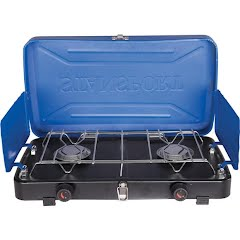 Stansport 2 Burner Propane Stove (Blue) Image