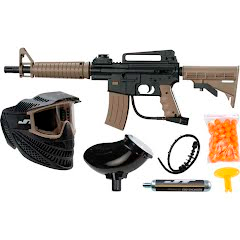 Kee Action Sports Ready to Play Tactical Paintball Marker Kit Image