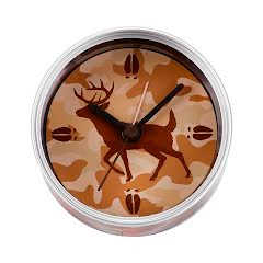 Big Sky Carvers Camo Clock-n-Can Image
