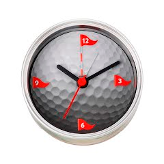 Big Sky Carvers Golf Clock-n-Can Image