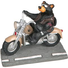 Big Sky Carvers Harley Bear Mini Figurine Image