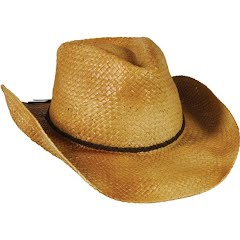 Outdoor Cap Men's Straw Cowboy Hat Image