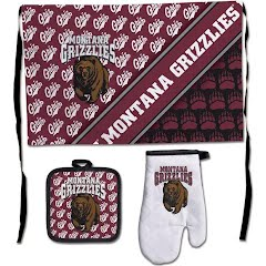 Wincraft University of Montana Grizzlies Premium Barbeque Tailgate Set Image