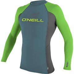 Oneill Youth Skins L/S Crew Rashguard Image