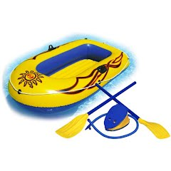 Solstice 2 Person SunSkiff Inflatable Boat Kit Image