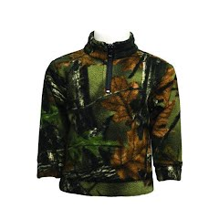 Trail Crest Youth Toddler Camo Everyday Easy 1/4 Zip