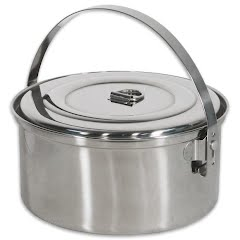 Stansport 3Qt Stainless Steel Camp Pot with Lid Image