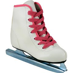 American Athletic Youth Girl's Preschool Little Rocket Double Runner Ice Skate Image
