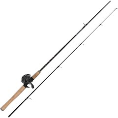 Quantum NX24 6ft 6in 2-Piece Baitcast Combo Image