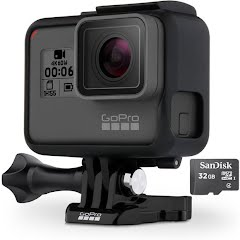 Gopro HERO6 Black Camera + 32GB microSD Card Image