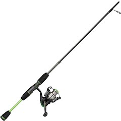 Shakespeare Youth Ugly Stik GX2 5ft, 6in, 2-Piece Spinning Combo Image