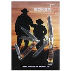 Boker The Ranch Hands Pocket Knife Set Image