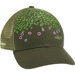 Rep Your Water Brook Trout Skin Hat Image