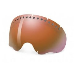 Oakley A Frame Goggle Replacement Lens (VR50 Emerald Iridium) Image