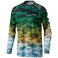 Columbia Men's Terminal Tackle Camo Fade Long Sleeve Shirt