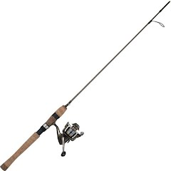 Shakespeare Wild Series Trout 7ft, 2-Piece Spinning Combo Image