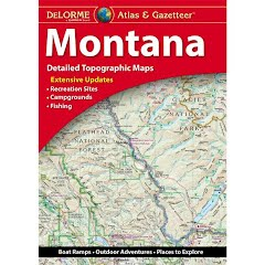 Delorme Montana Atlas and Gazetteer Image