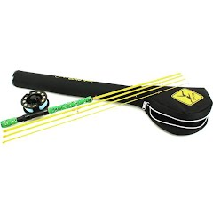 Echo Youth Gecko Series 7ft 6in 4-piece 4/5wt Fly Fishing Combo Image