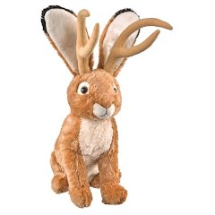 Wildlife Artists Jackalope Conservation Critter Plush Stuffed Animal Image