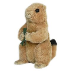 Wildlife Artists Prairie Dog Conservation Critter Plush Stuffed Animal Image