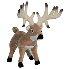 Wildlife Artists Whitetail Buck Conservation Critter Plush Stuffed Animal Image