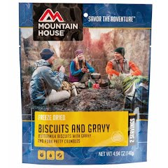 Mountain House Biscuits and Gravy (Serves 2) Image