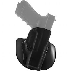 Safariland Model 5198 Open Top Concealment Paddle/ Belt Loop Holster with Detent Image