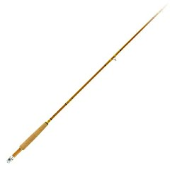 Eagle Claw Crafted Glass Flyrod 7 Foot 6 Inch Medium Action 2 Piece Image
